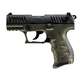 Walther P22Q Military OD Green .22 LR 3.42-inch 10Rds