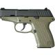 Kel-Tec P-11 9mm 3.1 inch BL/OD Green Grip