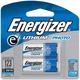 Energizer Lithium 3V CR123 2-pack