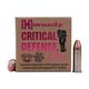 Hornady Critical Defense Lite .38SPL 90GR FTX 25Rds