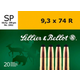 Sellier and Bellot SB9374RA 9.3X74R 285 SP 20rds18