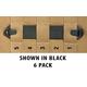 BlackHawk! SPEEDCLIP 6 PACK/ #5 5-inch  BLK