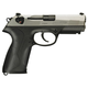 Beretta PX4 Storm Compact Type F - Inox Two-tone Stainless Steel, Black Backstrap 9mm 3.3-inch 15Rd