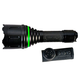 Aimshot Zoomable Green LED flashilight Black Finish with Wireless Switch