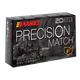 Barnes Bullets Precision Open Tip Match 175 Grain Brass .308 Win 20Rds