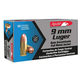Aguila Ammunition 9mm 124gr FMJ 50rd
