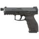 Heckler and Koch VP9 Tactical Black 9mm 4.7-inch 15rd Threaded Barrel Night Sights