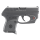 Ruger LCP Black .380 ACP 2.85-in 7 Rounds Viridian E-Series Red Laser
