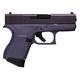 Glock 43  Black / Gray 9mm 3.39-inch 6Rd Fixed Sights
