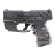 Walther PPS M2  Black  9mm 3.2 inch  7 rd with Crimson Trace Laser