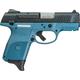 Ruger SR9C Black / Blue Titanium 9mm 3.4-inch 10Rds