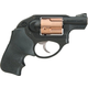 Ruger LCR Black / Copper Cylinder .38 SPL 1.9-inch 5Rd Double Action Hogue Grips