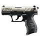 Walther P22QD Nickel .22LR 3.42 Inch 10 Rd