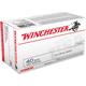 Winchester Ammunition .40S&W 165GR FMJ 100rds