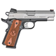 Springfield 1911-A1 EMP Champion Stainless / Black .40 SW 4-inch 9Rd Fiber Front Sight