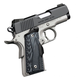 Kimber Master Carry Ultra Black / Stainless .45 ACP 3-inch 7Rd Crimson Trace Lasergrips