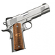 KIMBER STAINLESS RAPTOR II 45ACP 5IN STAINLESS / ZEBRAWOOD 8RD