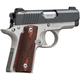 Kimber Micro Carry Two-Tone Matte Black / Satin Silver .380 ACP 2.75-inch 6Rd