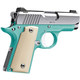 Kimber Micro Bel Air 380ACP 2.75 Inch 6 Rd  Fixed Sights Bel Air Blue/ Mirror Polished