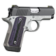 Kimber Micro Carry Advocate 380ACP 2.75-inch 7rd Night Sights Black / Stainless Purple Grips