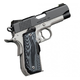 Kimber Master Carry Pro 45ACP 4-inch 8rd  Matte Black / Stainless night sights and Crimson Trace Lasergrip