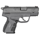 Springfield Armory XD-E Pistol 9mm 3.3-inch with 1 9rd and 1 8rd Magazine