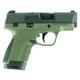 Honor Defense Honor Guard Semi Auto Handgun Green 9mm 3.2 inch 7 rd
