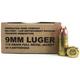 Remington Arms 9mm 115gr FMJ 50rds Mil/LE Overrun
