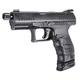 Walther PPQ Q4 TAC Black 9mm 4.6-inch 17rd Threaded Barrel