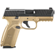 FN 509 Black / Flat Dark Earth 9mm 4-inch 17Rds