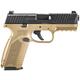 FN 509 9MM 4-inch 10rd Black / FDE