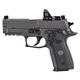 Sig Sauer P229 Legion Legion Gray Cerakote 9mm 3.9-inch 10Rds Romeo 1 Mini Reflex Optic