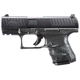 Walther PPQ M2 Subcompact Matte Black Tenifer Coating 9mm 3.5-inch 15Rds Ambi Mag Release & Slide Stop