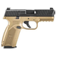FN 66100359   509   9MM  NMS   17R    FDE/BLK LE