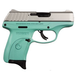 Ruger EC9s Turquoise/Stainless 9mm 3.12-inch 7Rds