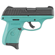 Ruger EC9s Turquoise Blue / Black 9mm 3.12-inch 7Rds