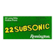 Remington 22 Subsonic .22LR 38GR HP 50Rds