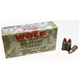 Wolf Performance Ammo 9mm 115Gr FMJ 500Rd Case