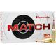 Hornady Match 88gr Brass .224VAL 20Rds