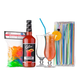 Hurricane Cocktail Starter Kit - Includes Mix, 2 Glasses & Accessories