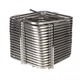 Square Jockey Box Coil - 120' - Stainless Steel - High Efficiency