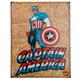 Captain America Retro Metal Bar Sign