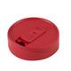 iLIDS Mason Jar Drink Lid - Fits Regular Size Jars - Red