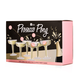 Prosecco Pong Party Game Set - Includes 3 Pink Balls & 12 Plastic Coupe Glasses