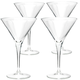 Bormioli Rocco Party Martini Glasses - 8.25 oz - Set of 4