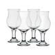 Caribbean Cooler Stemmed Daiquiri Cocktail Glasses - 12 oz - Set of 4