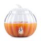 Pumpkin Shaped Glass Beverage Dispenser - 2 Gallons