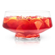 Viski Raye Footed Glass Punch Bowl - 2.56 Gallons
