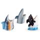 Under The Sea Aquatic Ceramic Tiki Mugs - Set of 3