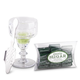Absinthe Lovers Coupe Glass Set - Includes Absinthe Spoon, Glass, & Sugar Cubes
